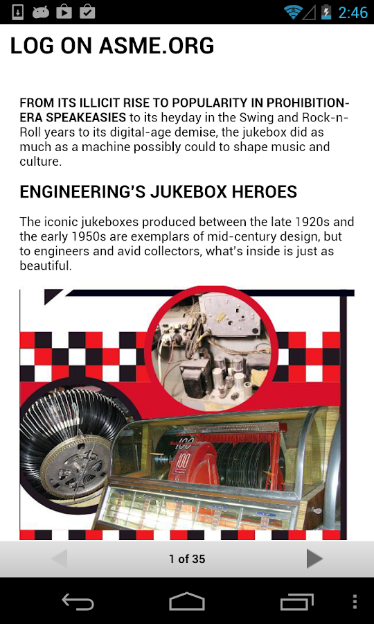 Mechanical Engineering Mag - screenshot