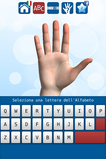 3D Sign Language Alphabet