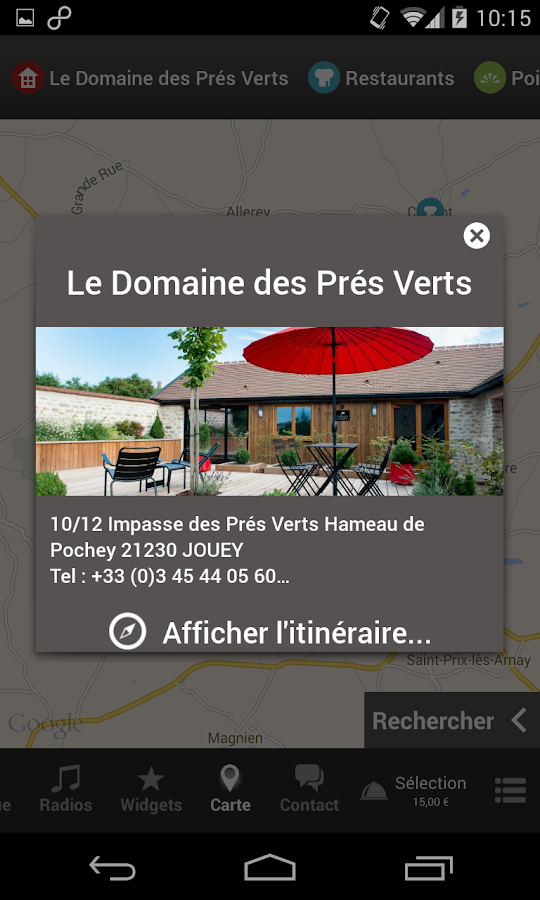 domaine des pr s verts android apps on google play. Black Bedroom Furniture Sets. Home Design Ideas