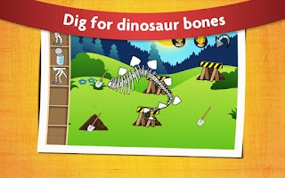 Screenshot of Kids Dinosaur Game Free
