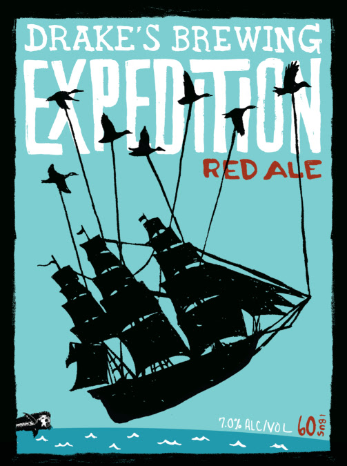 Logo of Drake's Expedition Ale