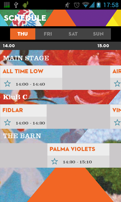 Rock Werchter 2013 - screenshot