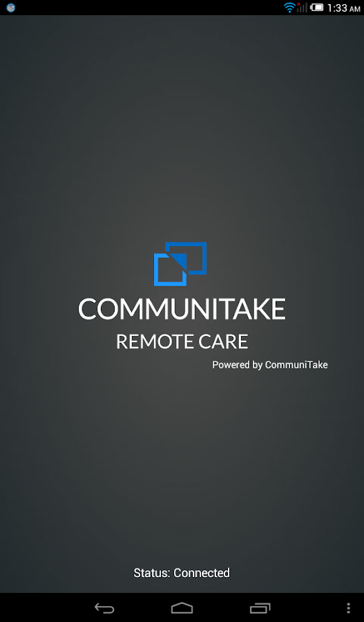 CommuniTake Remote Care- screenshot