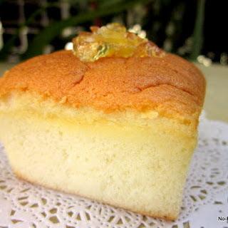 Mini Lime Marmalade Chiffon Cake