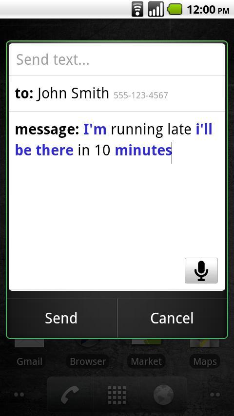Voice Search screenshot #2