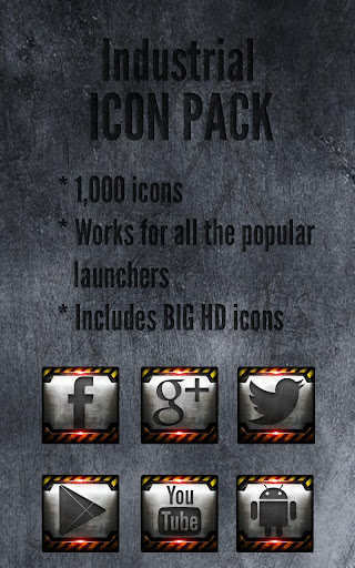 Industrial - Icon Pack