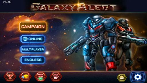 Galaxy Alert Red Alert