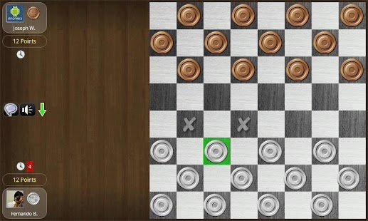 Checkers Online Tournament