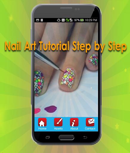 Nail Art Design Tutorial step