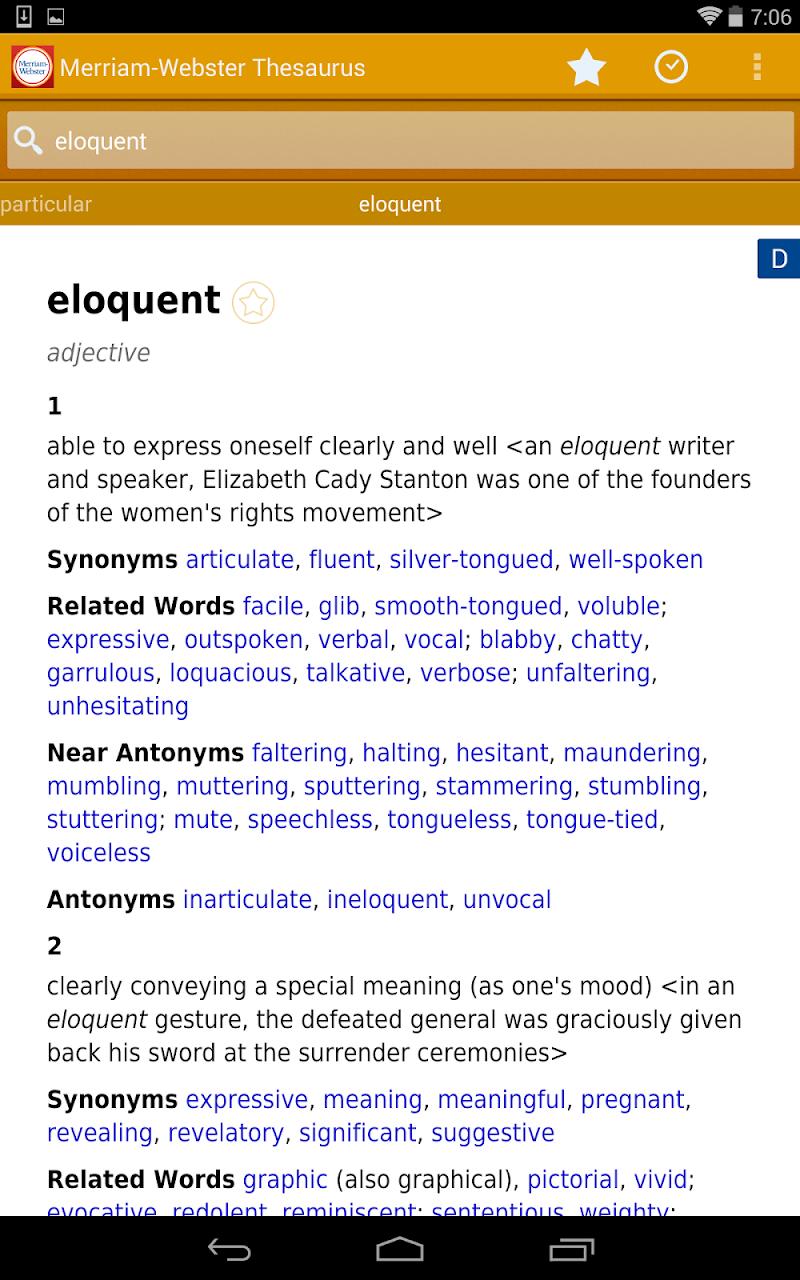 Dictionary - M-W Premium Screenshot 12
