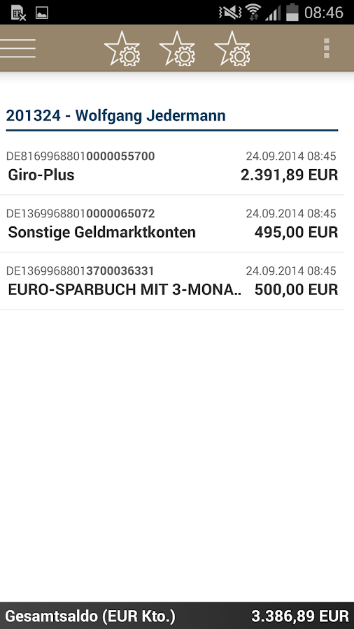 MLP Financepilot- screenshot