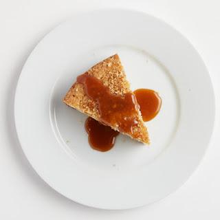 Hazelnut Butter Cake with Sea Salt Caramel.