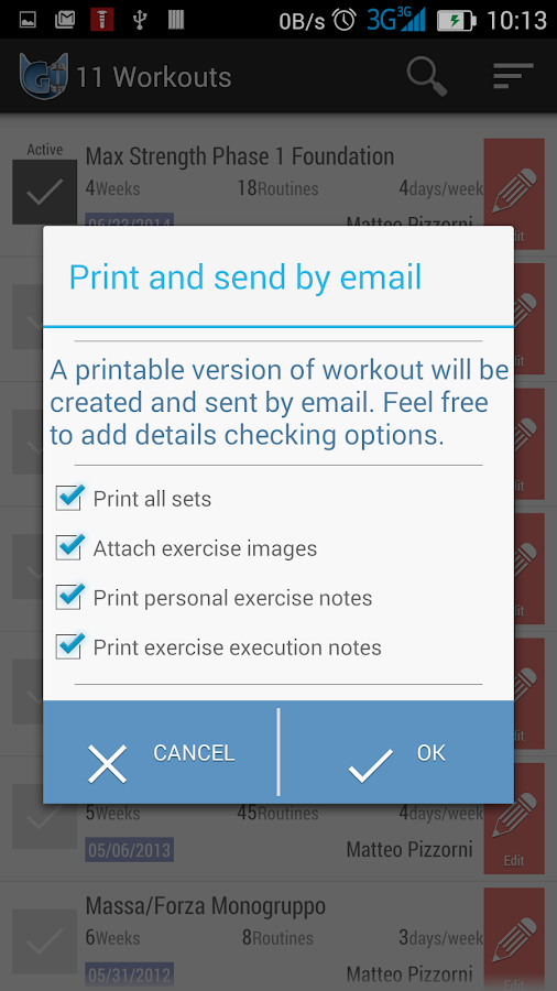 Gymme - Gym Personal Trainer- screenshot