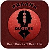 Praana Deep Quotes