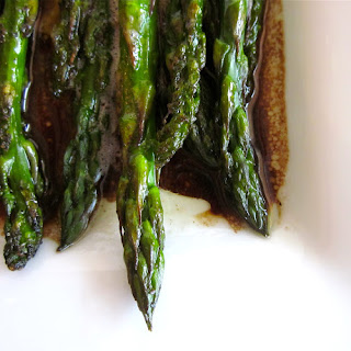 Balsamic-Browned Butter Asparagus.