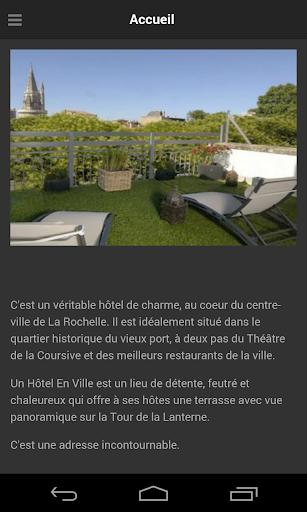Un Hotel En Ville