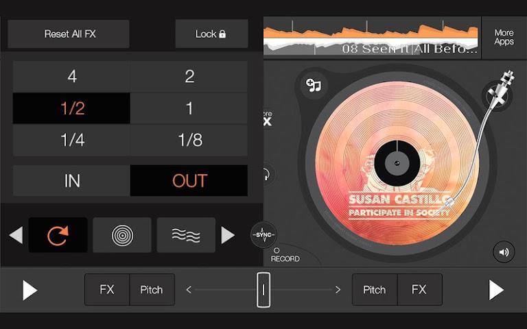 android edjing 5 free DJ musique mixer Screenshot 4