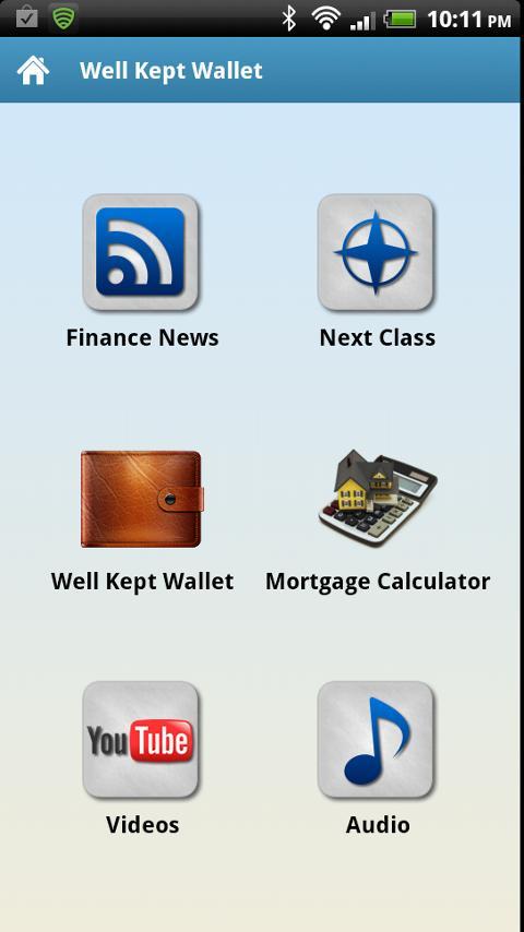 Well Kept Wallet- screenshot
