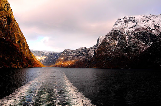 Sognefjord-Norway - Sognefjord, Norway.