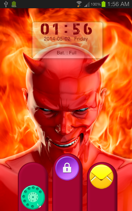Devil God Go Locker Theme - screenshot