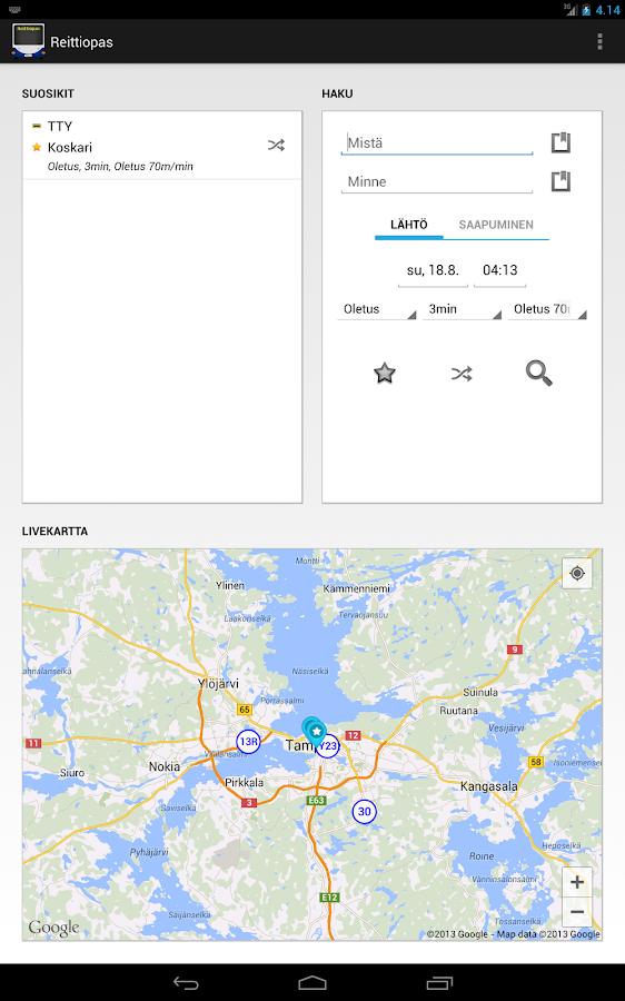 Google Reittiopas