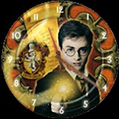 Harry Potter Clock