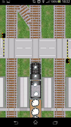 電車が線路を走るよ!