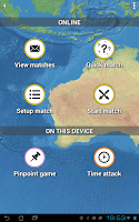 Screenshot of MapMaster - Geography game