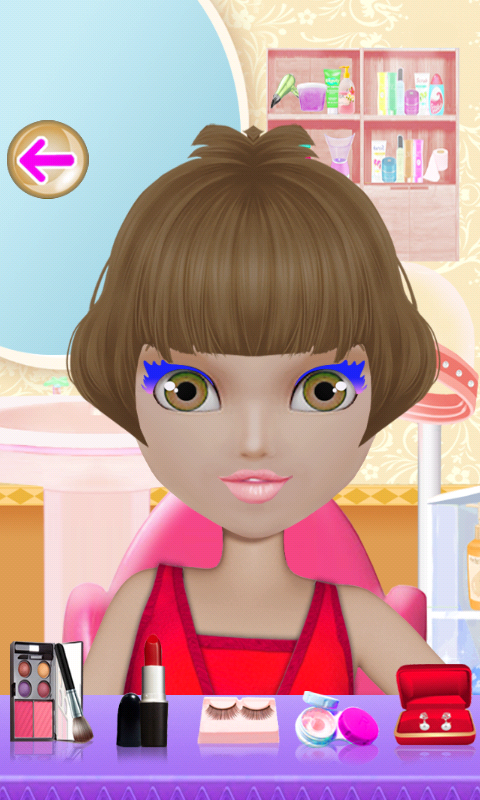 Doll Makeover Dress Up Games- screenshot