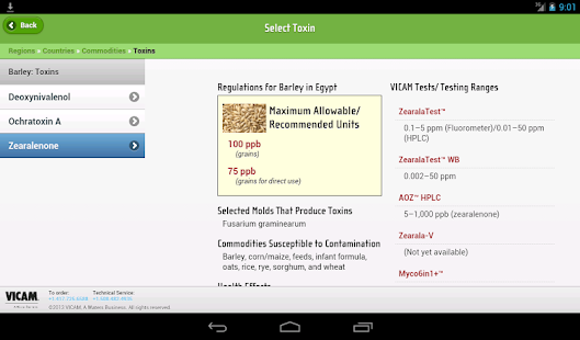 Global Mycotoxin Regulations- screenshot thumbnail