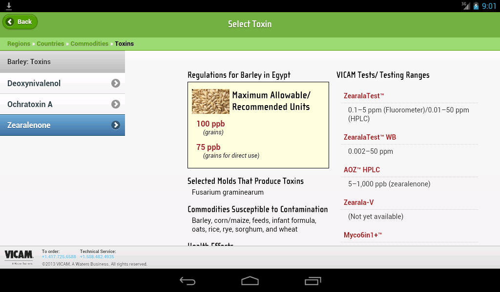 Global Mycotoxin Regulations- screenshot