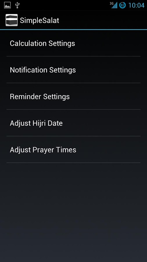 SimpleSalat - Prayer Times- screenshot