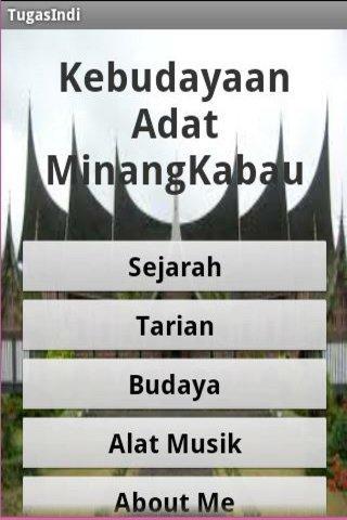 Budaya Adat Minang Kabau