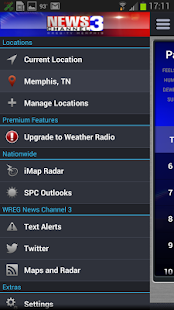 WREG Memphis Weather Center - screenshot thumbnail