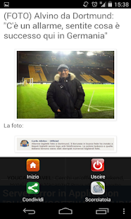 Calcio Blogs - screenshot thumbnail