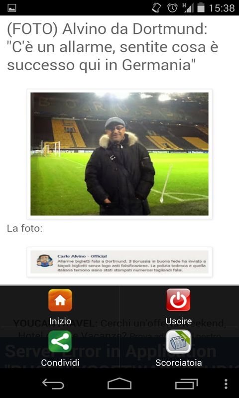 Calcio Blogs - screenshot