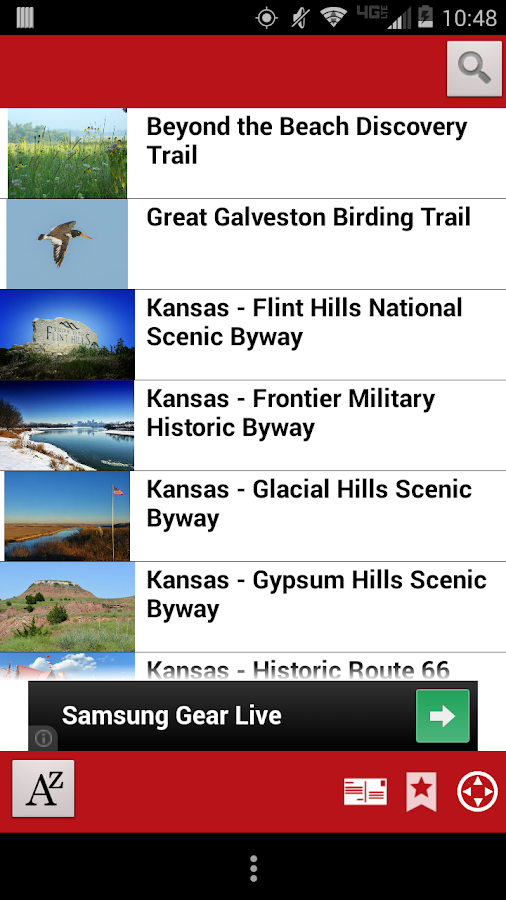 Trails2go - screenshot