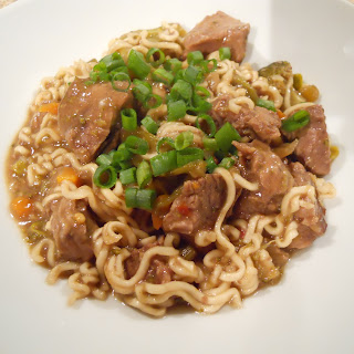 Crockpot Asian Beef and Noodles.