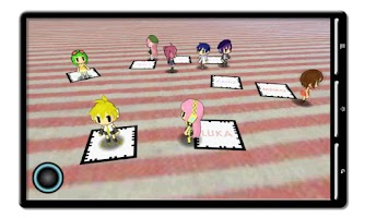 Screenshot of AR VOCALO WALK