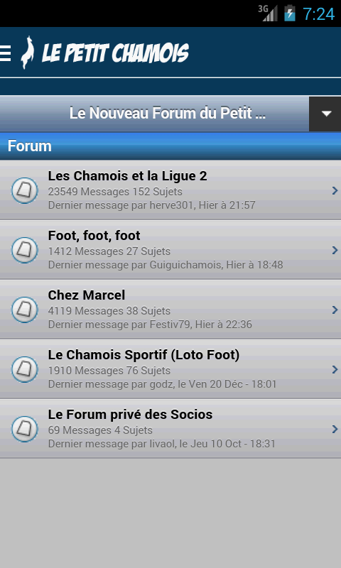 Le Petit Chamois- screenshot