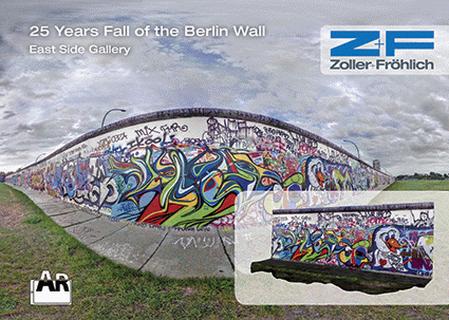Z+F Berlin Wall AR