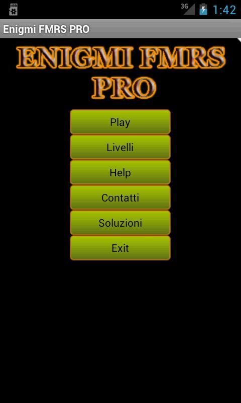 Enigmi FMRS PRO - screenshot