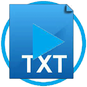 Video Player To TXT Reader