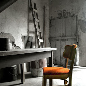 by Shelly Hendricks - Buildings & Architecture Decaying & Abandoned ( selective color, pwc,  )