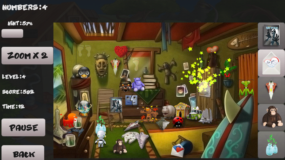 Adventure. Hidden objects- screenshot