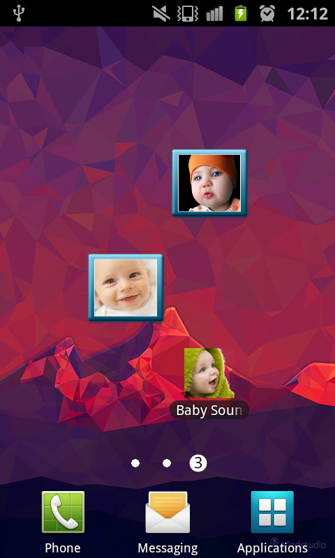 Baby Sounds Free- screenshot
