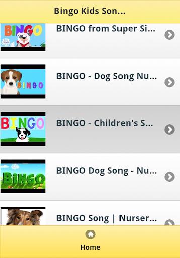 Bingo Kids Songs