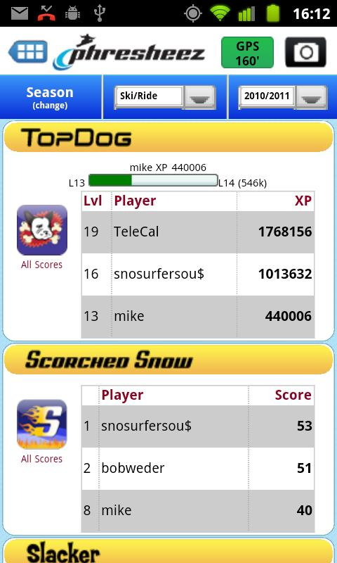 Phresheez Tracking & Gaming- screenshot