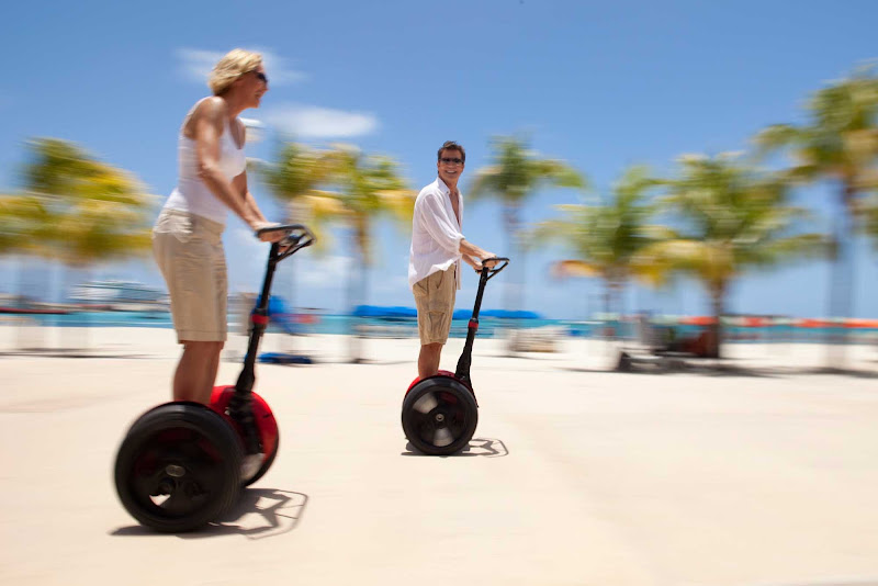 If you start to drag during a walking tour of Philipsburg, you can always rent a Segway (we didn't).