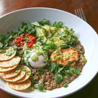 Savory Oatmeal with Lentils